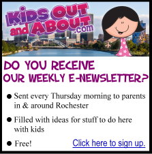 Sign up for KidsOutAndAbout's e-newsletter!