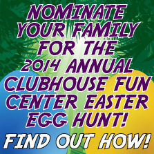 Clubhouse Fun Center Easter Egg Hunt