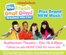 Fresh Beat Band coming to the Auditorium in Rochester, December 18, 2014