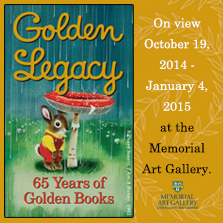 Golden Legacy: 65 years of Golden Books at the MAG