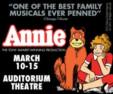 Annie at the Auditorium Theatre March 10-15, 2015