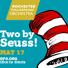 Two by Seuss - the last in the RPO's 2014-2015 OrKIDStra series at Hochstein May 17, 2015