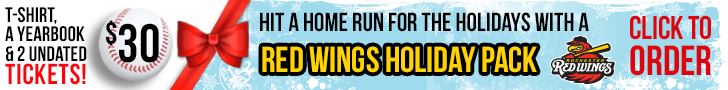 Rochester Red Wings - a great holiday gift!