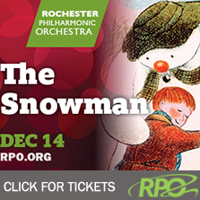 The Snowman at Eastman Theatre with the RPO