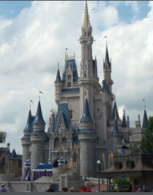 The Magic Kingdom Castle