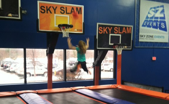 Sky Zone Basketball Court