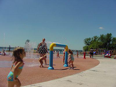 Seneca Lake State Park's Sprayground and Playground | Kids