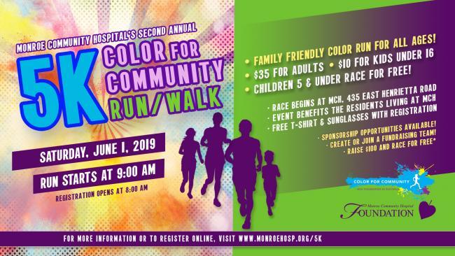 Color for Community 5k | Kids Out and About Rochester
