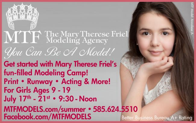 Mary Therese Friel's Modeling Camp | Kids Out and About Rochester