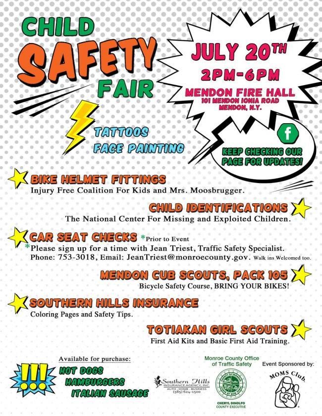 child safety fair kids    rochester