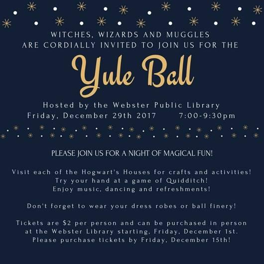 Harry Potter Yule Ball Kids Out and About Rochester