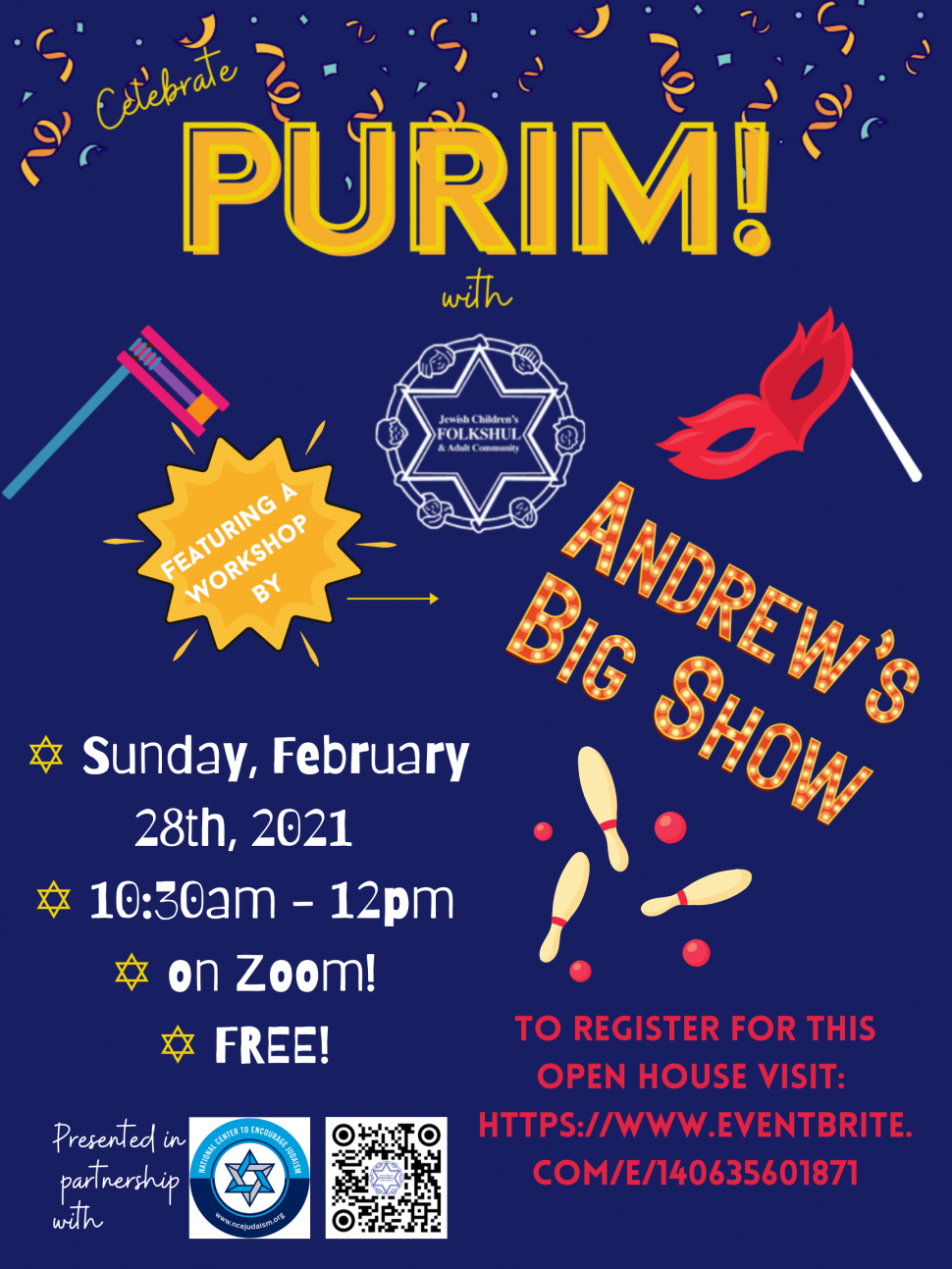 2021 Community Christmas Concert Rochester Purim Open House With Folkshul Kids Out And About Rochester
