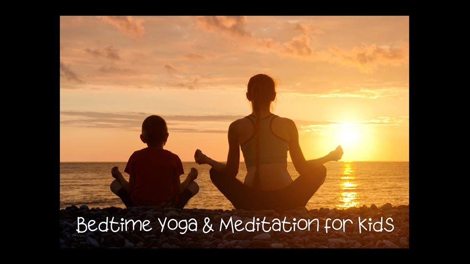 Virtual Event Bedtime Yoga Meditation For Kids Free Fb Live Class At 7 30pm Eastern With Blooming Breath Yoga Kids Out And About Rochester