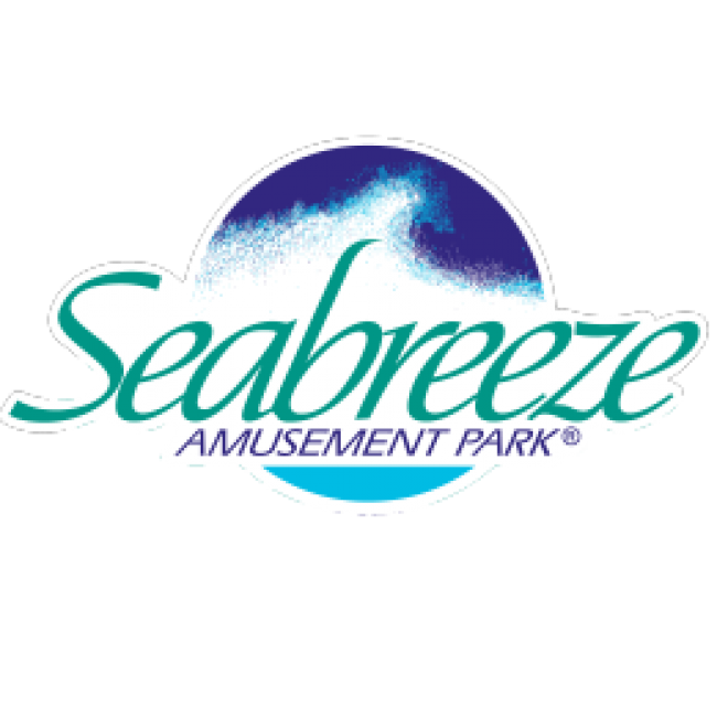 Seabreeze Amusement Park features a variety of adult & kiddie rides and attractions, including four roller coasters, thrill rides, live shows, a water park and more. Located in Rochester, New York, between Lake Ontario and Irondequoit Bay and only a short drive from Syracuse, Elmira & Buffalo.