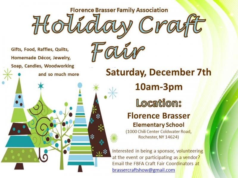 Christmas Craft Show Flyer.Holiday Craft Fair Kids Out And About Rochester
