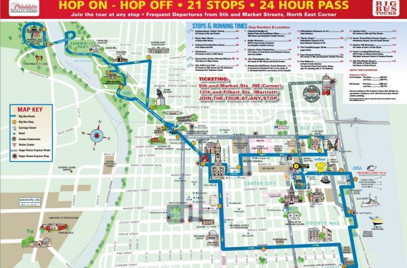 Pittsburgh Walking Tours Maps